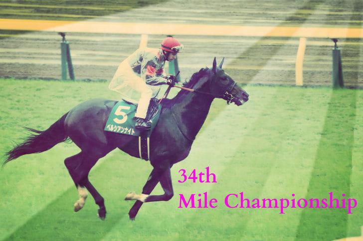 第34回マイルチャンピオンシップ...